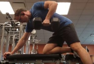 best back exercises 2 - one arm dumbbell rows